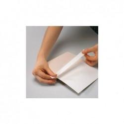 FILMOLUX Rouleau Film encadrement coin de livre  2 cm x 50 m Blanc