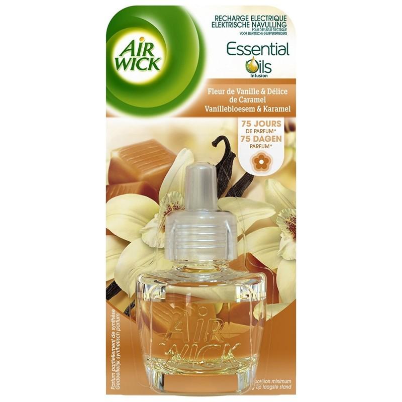 AIRWICK Recharge Diffuseur fleur de vanille et délice caramel