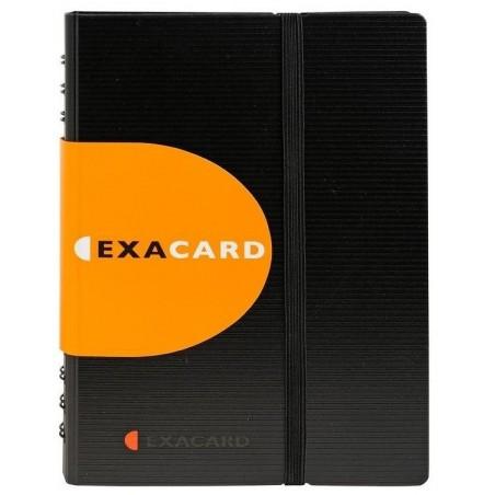 EXACOMPTA Porte cartes de visite détachable120 cartes 20x14,5cm 75034