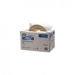 TORK Boîte distributrice de 120 Chiffons de nettoyage Ultra Résistant pliés - Format : 64 x 38 cm blanc