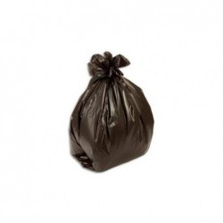 SACS POUBELLES de 10 rouleaux de 50 sacs soit 500 sacs poubelle noir fin de 50 litres 31805