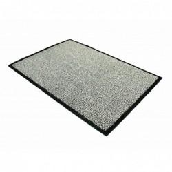 FLOORTEX Tapis d'accueil 60 x 90 cm blanc/noir