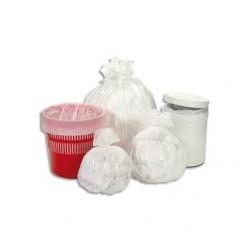 Carton de 10 rouleaux de 50 sacs poubelle 30L blancs HERSAND DELAISY KARGO