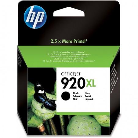 HP Cartouche jet d'encre noir 920XL CD975AE