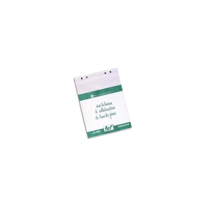 EXACOMPTA Boîte de 5 recharges FAF N°4, format 21X13,5cm réglure 5x5