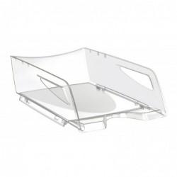 CEP Corbeille à courrier Pro Maxi Hauteur 11,5 cm Cristal