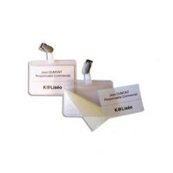 5 ETOILES Boite de 25 badges auto plastifiant mm