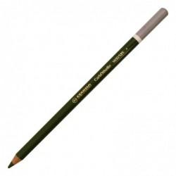STABILO Crayon de couleur Fusain Pastel CarbOthello Vert olive