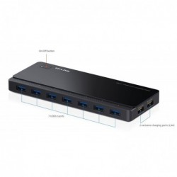 TP-LINK 7 ports USB 3.0 Hub 2 Power Charge Ports