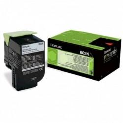 LEXMARK Toner laser Original LRP 802K 80C20K0 1000 pages Noir