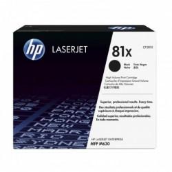 HP Toner Laser N°81X Noir...