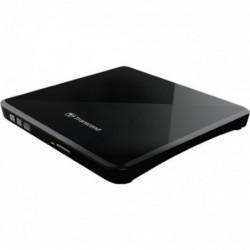 TRANSCEND Graveur DVD/CD externe TRANSCEND 8X DVDS-K - DVD±RW (±R DL) / DVD-RAM - 8x/8x/5x - USB 2.0 - externe - slim