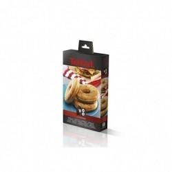 TEFAL Coffret Snack Collection - 2 plaques bagels + 1 livre de recettes