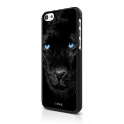MOXIE Coque Blue Eyes Collection Panthère  pour iPhone 5C