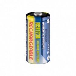 GOOBAY Pile Photo Rechargeable CR123A 500 mAh Lithium-Ion 3 V