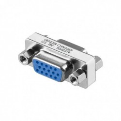 GOOBAY Raccord Vidéo VGA D-SUB Femelle (15-pin) - D-SUB Femelle (15-pin)