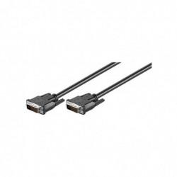 GOOBAY Câble DVI-D Dual...
