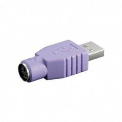 GOOBAY Adaptateur USB / PS2 Violet