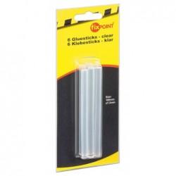 FIXPOINT Blister de 6 Stick Colle pour Pistolet Diam 7,2 mm Longeur 100 mm