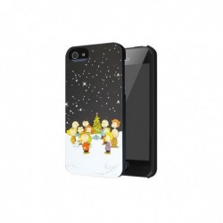 WEGACELL Coque pour Apple IPhone 5 , 5S iLuv Peanuts Xmas