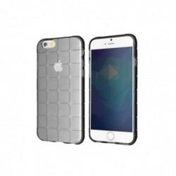 "WEGACELL Etui TPU ""Square"" pour Apple iPhone 6, 6s Noir"