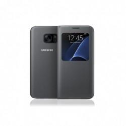 SAMSUNG Etui S View pour Samsung Galaxy S7 Noir