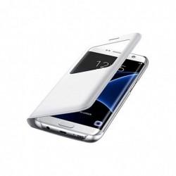 SAMSUNG G935F Galaxy S7 Edge S-View Cover Original Blanc