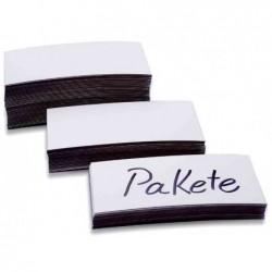 MAGNÉTOPLAN Etiquettes à aimant, blanc, 50 x 100 x 0,6 mm