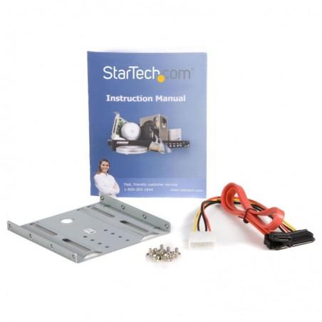 """STARTECH.COM Kit de Montage pour Disque Dur SATA ou SSD 2.5"""" dans Emplacement Frontal 3.5"""""""