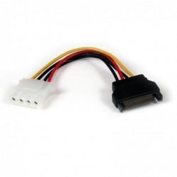 STARTECH.COM Adaptateur de câble d'alimentation SATA 15 cm vers LP4 F/M