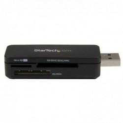 STARTECH.COM Lecteur Multi Cartes Mémoire Externe USB 3.0 - Clé USB