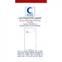 ELVE Bloc MAITRE D'HOTEL 165X85 50/2+0