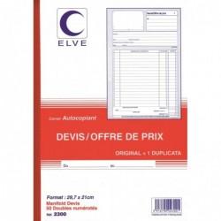 ELVE Manifold Devis - Offre...