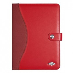 "WEDO Etui support Trendset en cuir synthétique universel tablette de 9,7"" à 10,1""  Rouge"