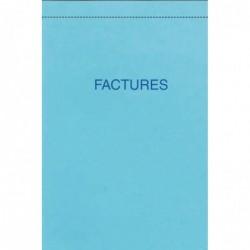 ELVE Bloc FACTURES 100 x 155 mm 50 Feuillets Dupli