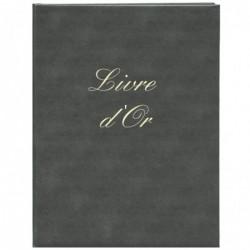 ELVE Livre d'Or Couverture rigide 220 x 170 mm 148 Pages Noir