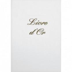 ELVE Livre d'Or Couverture rigide 21 x 29,7 cm 148 Pages Blanc