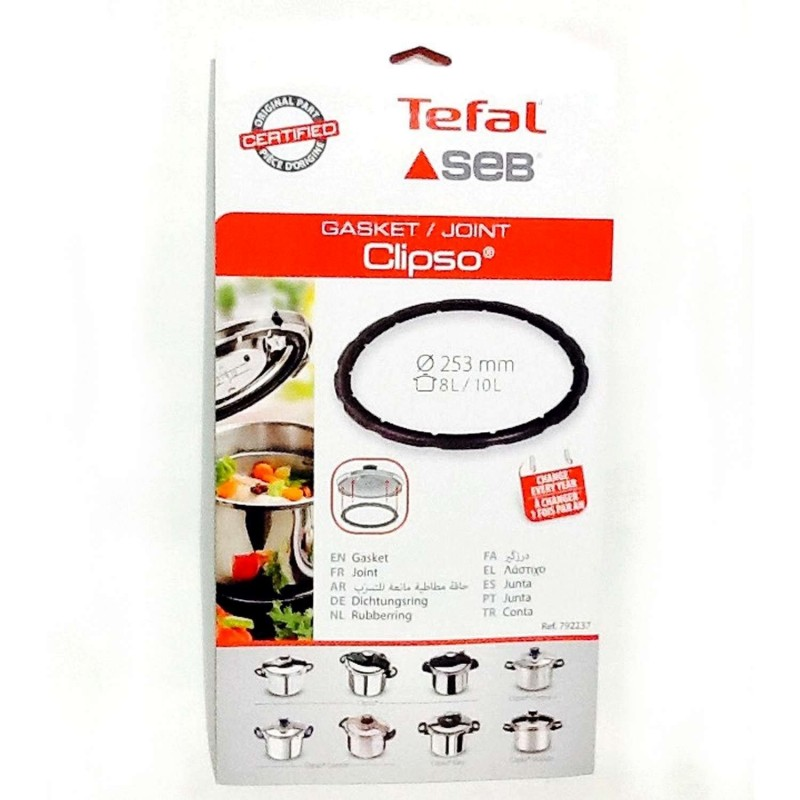 SEB Joint autocuiseur Clipso 8 à 10 L (Inox)