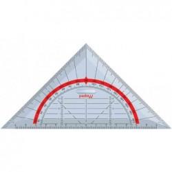 MAPED Équerre geométrique Technic 45° Hypothénuse 160 mm 4 en 1