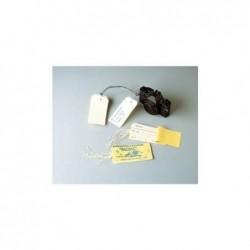 AVERY ZWECKFORM Carnet de 10 étiquettes bagage 120x60mm+ attache ficelle
