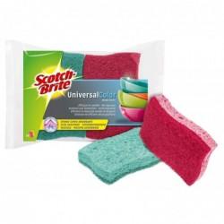 SCOTCH BRITE Lot de 2 Eponge-cellulose Universal Color