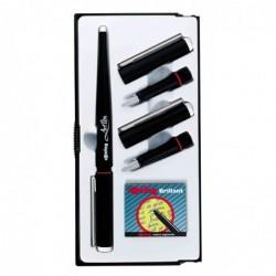 "ROTRING Kit de stylos plumes ArtPen ""Calligraphy"" 1,5 mm Noir"