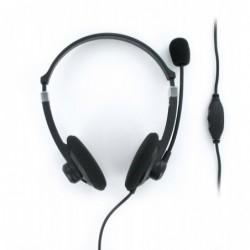 MOBILITY LAB Casque PC Stéréo avec microphone H250 Ultra léger