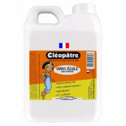CLÉOPÂTRE Bidon de 5 litres de colle blanche vinylique