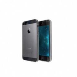 """OKKES Coque Ultra Slim TPU """"AIR"""" pour Apple iPhone 5, 5S Incolore"""