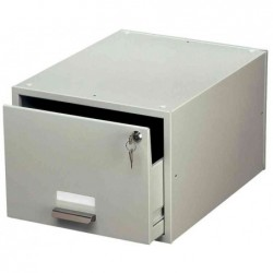 DURABLE Tiroir pour fiches, en acier,Format A6,ne  contient