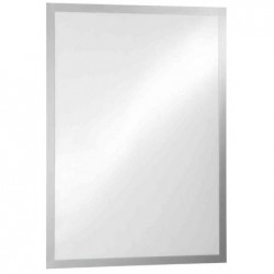DURABLE Cadre porte-affiches DURAFRAME POSTER, format A2, argent