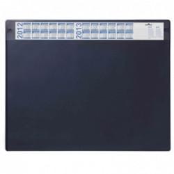 DURABLE Sous-mains avec calendrier annuel, 65 x 52 cm, Bleu foncé