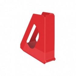 ESSELTE Porte-revues Vivida en PVC oeillet  L7,2 x H25,6 x P26 cm rouge