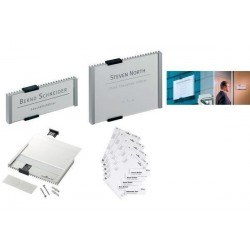 DURABLE recharge INFO SIGN REFILL, pour plaques de porte